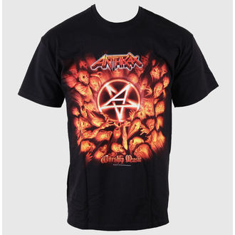 tee-shirt métal pour hommes Anthrax - Worship Music - ROCK OFF, ROCK OFF, Anthrax