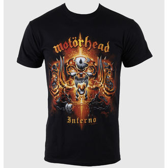 tee-shirt métal pour hommes Motörhead - Inferno - ROCK OFF - MHEADTEE11MB