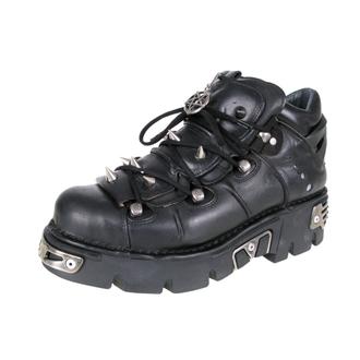 bottesen cuir - Prick Shoes (110-S1) Black - NEW ROCK - M.110-S1