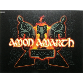drapeau Amon Amarth - Hammers, HEART ROCK, Amon Amarth