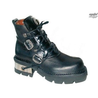 bottesen cuir - Classic Shoes (988-S1) Black - NEW ROCK - M.988-S1
