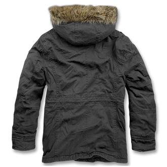 veste d`hiver pour hommes - Vintage Explorer Black - BRANDIT, BRANDIT