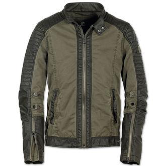 veste printemps / automne pour hommes - Road King Vintage Black/Oliv - BRANDIT, BRANDIT