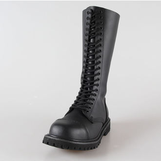 chaussures en cuir 20trous BRANDIT - Phantom Noire, BRANDIT