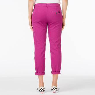 pantalon pour femmes VANS - G Pleated Chino - Boysenberry, VANS