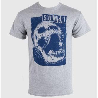 tee-shirt métal pour hommes Sum 41 - Skull Sports - LIVE NATION, LIVE NATION, Sum 41
