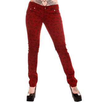 pantalon pour femmes 3RDAND56th - Swallow Skinny Jeans, 3RDAND56th