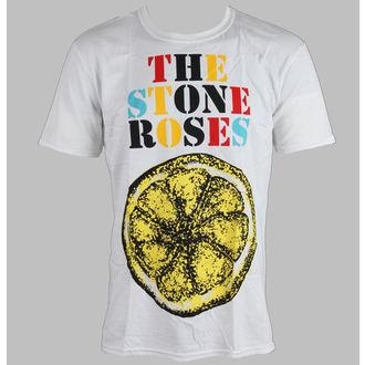 tee-shirt métal pour hommes Stone Roses - Logo Lemon Multicolour - ROCK OFF, ROCK OFF, Stone Roses