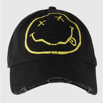 casquette Nirvana - Smiley - ROCK OFF - NIRVCAP01