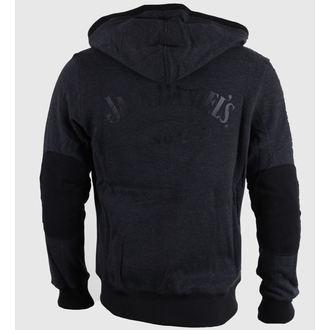 sweat-shirt avec capuche pour hommes Jack Daniels - Grey - JACK DANIELS, JACK DANIELS