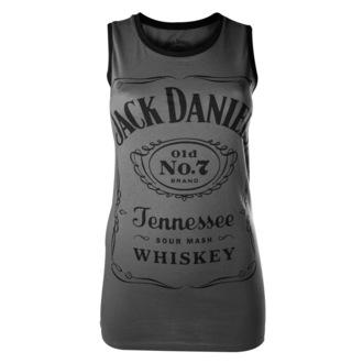 débardeur pour femmes Jack Daniels - Charcoal - BIOWORLD, JACK DANIELS