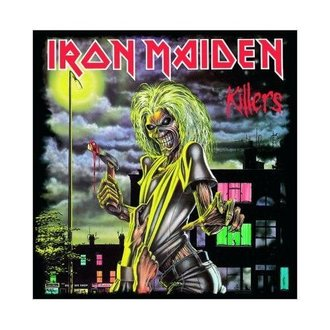 carte de voeux Iron Maiden - Killers - ROCK OFF, ROCK OFF, Iron Maiden