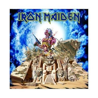 carte de voeux Iron Maiden - Somewhere back à Time - ROCK OFF, ROCK OFF, Iron Maiden
