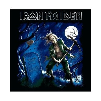 carte de voeux Iron Maiden - Benjamin Breeg - ROCK OFF, ROCK OFF, Iron Maiden