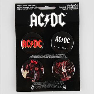 épinglettes AC / DC - CDV, C&D VISIONARY, AC-DC