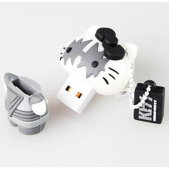 flash disque USB 8GB (pendentif) KISS - HELLO KITTY - The Spaceman, HELLO KITTY, Kiss