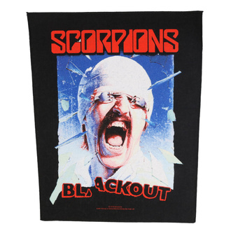 Grand patch Scorpions - Blackout - RAZAMATAZ, RAZAMATAZ, Scorpions