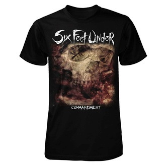 T-shirt metal pour hommes Six Feet Under - Commandment - ART WORX, ART WORX, Six Feet Under