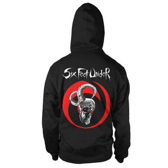 sweat-shirt avec capuche pour hommes Six Feet Under - Goatskull Hood - ART WORX, ART WORX, Six Feet Under