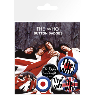épinglettes The Who - Lyrics And Logos, Who