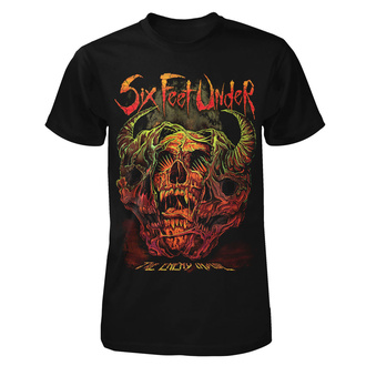 T-shirt metal pour hommes Six Feet Under - The Enemy Inside - ART WORX, ART WORX, Six Feet Under