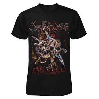 T-shirt metal pour hommes Six Feet Under - Knife thru the Skull - ART WORX, ART WORX, Six Feet Under