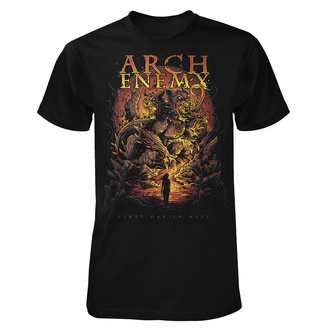 T-shirt metal pour hommes Arch Enemy - First Day In Hell - ART WORX, ART WORX, Arch Enemy