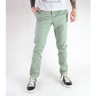 pantalon pour hommes GLOBE - Goodstock Chino - Faded Evergreen