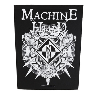 Grand patch Machine Head - Crest - RAZAMATAZ, RAZAMATAZ, Machine Head