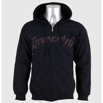 sweat-shirt avec capuche pour hommes Immortal - Damned In Black - RAZAMATAZ, RAZAMATAZ, Immortal
