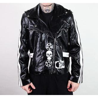 veste en cuir pour hommes - Rock Jacket Lacrimas Profundere - ADERLASS, ADERLASS