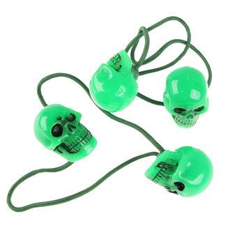 chouchou à cheveux KREEPSVILLE SIX SIX SIX - Skull - Green, KREEPSVILLE SIX SIX SIX