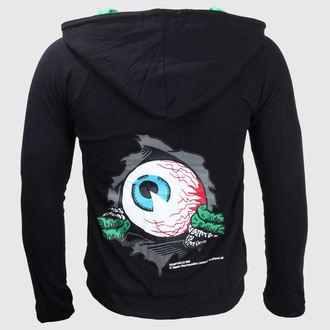 sweat-shirt avec capuche pour femmes - Eyeball - KREEPSVILLE SIX SIX SIX, KREEPSVILLE SIX SIX SIX