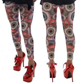 pantalon pour femmes (caleçons) KREEPSVILLE SIX SIX SIX - Eyesore, KREEPSVILLE SIX SIX SIX