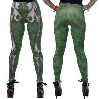 pantalon pour femmes (caleçons) KREEPSVILLE SIX SIX SIX - Skele-Bone - Slime, KREEPSVILLE SIX SIX SIX