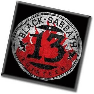 aimant Black Sabbath - 13 Flame Circle - ROCK OFF, ROCK OFF, Black Sabbath