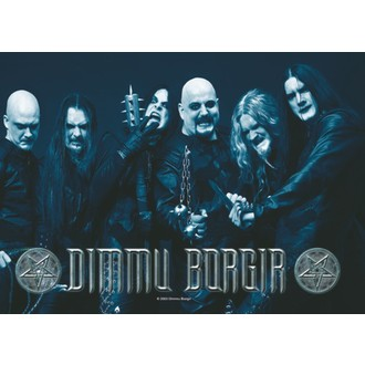 drapeau Dimmu Borgir - Band Photo, HEART ROCK, Dimmu Borgir