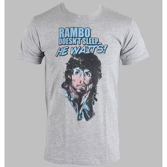 t-shirt de film pour hommes Rambo - Rain On Your Face - AMERICAN CLASSICS, AMERICAN CLASSICS, Rambo