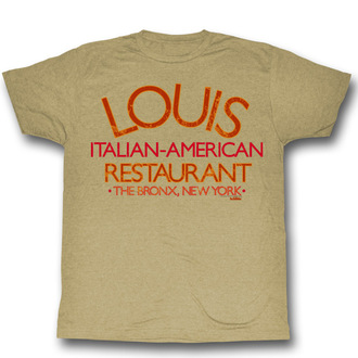 t-shirt de film pour hommes The Godfather - Louis Restaurant - AMERICAN CLASSICS, AMERICAN CLASSICS, Le parrain