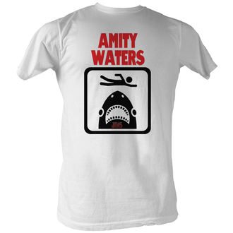 t-shirt de film pour hommes JAWS - Amity Waters - AMERICAN CLASSICS, AMERICAN CLASSICS, Les dents de la mer