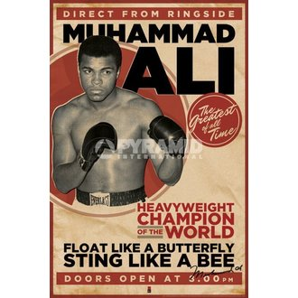 affiche Muhammad Ali - Vintage - Corbis - PYRAMID POSTERS, PYRAMID POSTERS