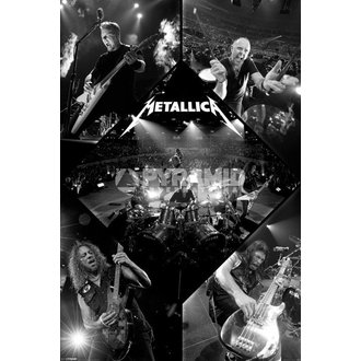 affiche Metallica - Live - PYRAMID POSTERS, PYRAMID POSTERS, Metallica