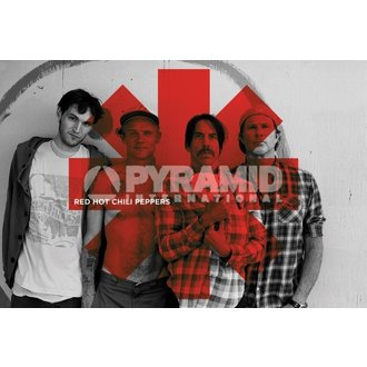 affiche Red Hot Chili Peppers - Rouge Asterix - PYRAMID POSTERS, PYRAMID POSTERS, Red Hot Chili Peppers