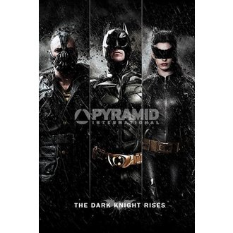 affiche Batman - The Dark Knight Rises - Three - PYRAMID POSTERS, PYRAMID POSTERS