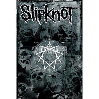 affiche Slipknot - Pentagram - PYRAMID POSTERS, PYRAMID POSTERS, Slipknot