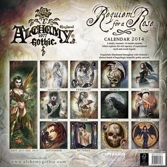 calendrier pour année 2014 Alchemy - PYRAMID POSTERS, ALCHEMY GOTHIC