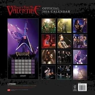 calendrier pour année 2014 Bullet For My Valentine - PYRAMID POSTERS, PYRAMID POSTERS, Bullet For my Valentine