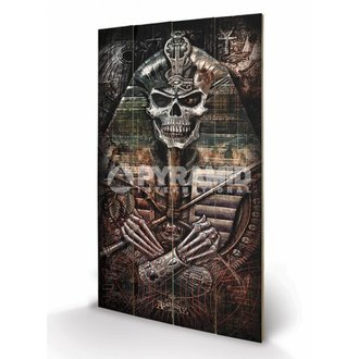 en bois tableau Alchemy - Thoth Codex - PYRAMID POSTERS, ALCHEMY GOTHIC