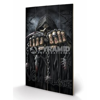 en bois tableau Spiral - Game Over - Reaper - PYRAMID POSTERS, SPIRAL