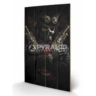 en bois tableau Spiral - Steampunk Bandit - PYRAMID POSTERS, SPIRAL